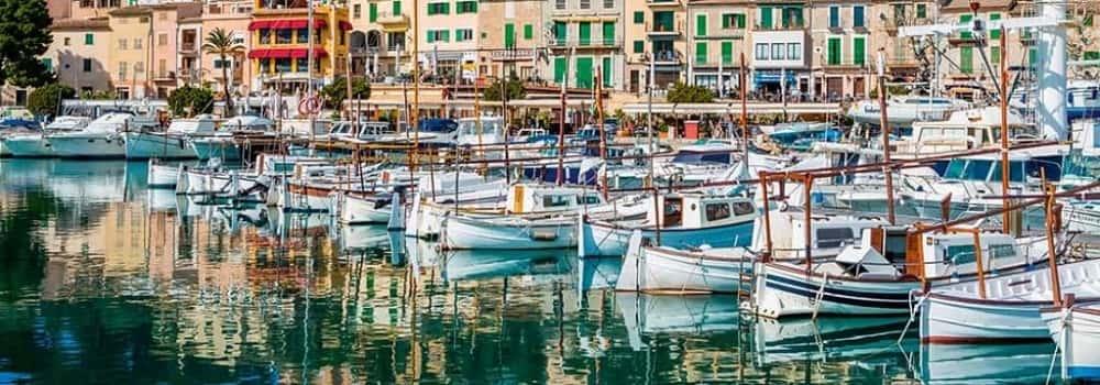 Principales puertos de Mallorca